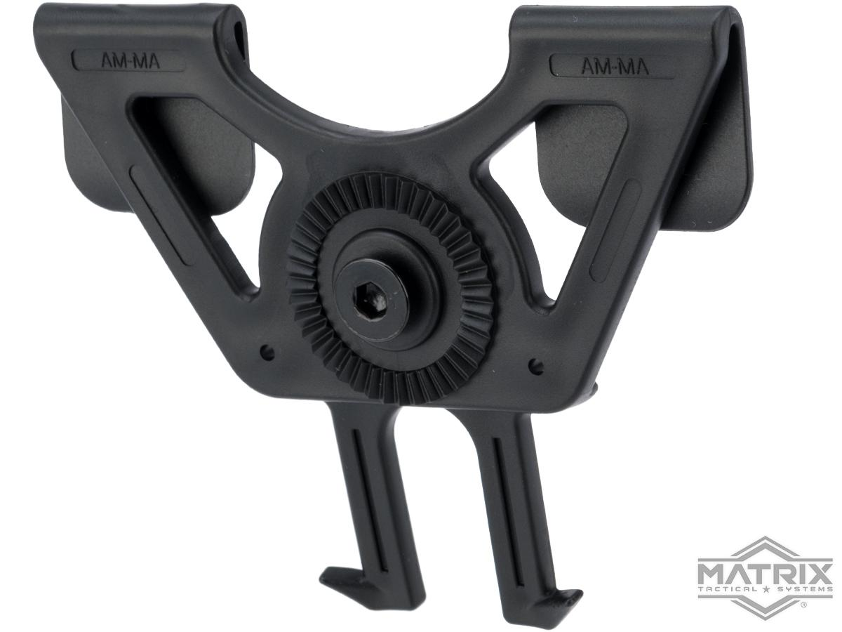 Matrix Modular MOLLE Mount for Matrix Modular Holster Series (Color: Black)