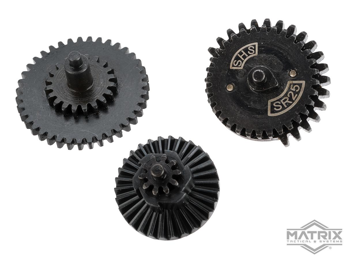 Matrix CNC Machined Steel SR25 Airsoft Gear Set (Ratio: 18:1)