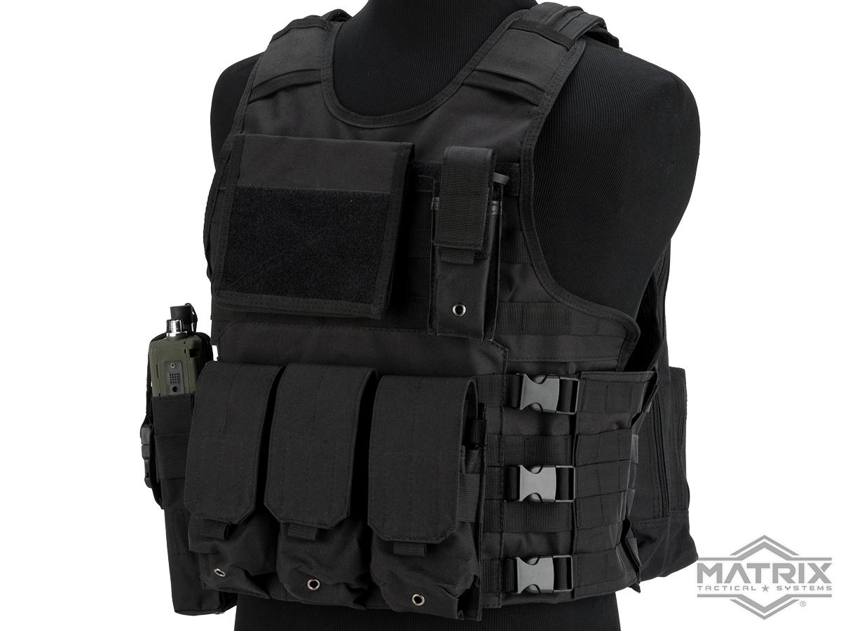 Matrix MEA ModII Tactical Vest (Color: Black)