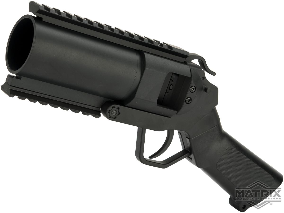 Matrix Full Metal CQB 40mm Tactical Grenade Launcher Airsoft Pistol