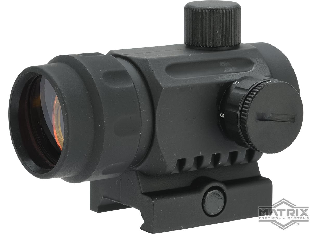 Pre-Order ETA August 2021 Matrix High Speed 1X20 Battle Reflex Red Dot Optic (Color: Black)