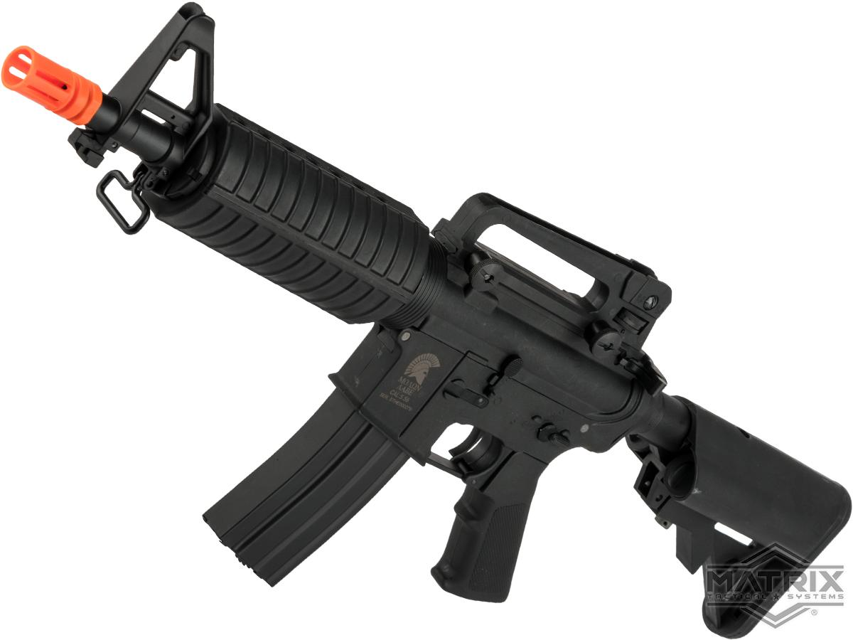 Matrix / S&T Sportsline M4 Airsoft AEG Rifle w/ G3 Micro-Switch Gearbox (Model: Black  M4 CQB / 350 FPS)