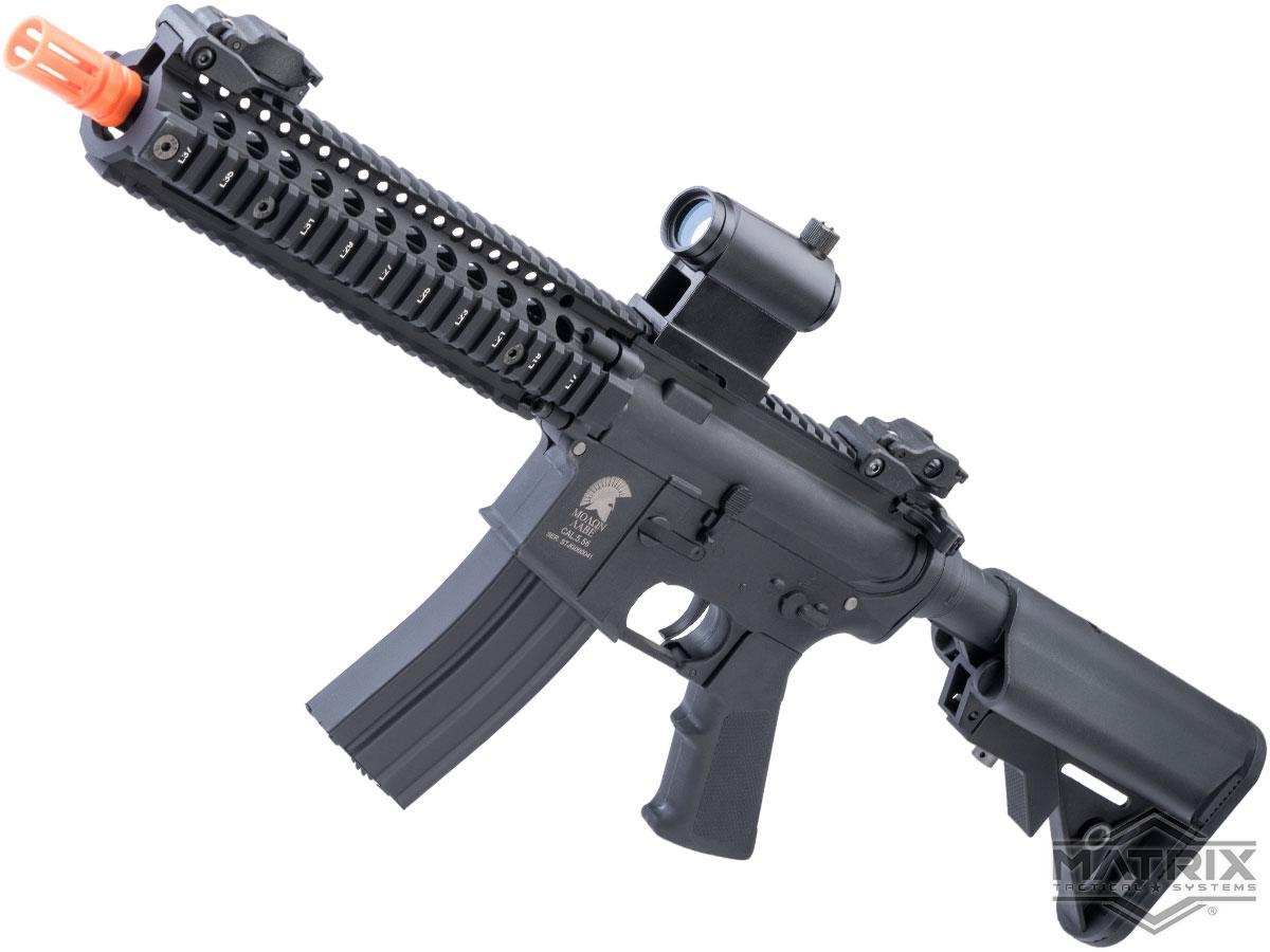 Matrix / S&T Sportsline M4 RIS Airsoft AEG Rifle w/ G3 Micro-Switch Gearbox (Model: Black RIS 9 / 350 FPS)