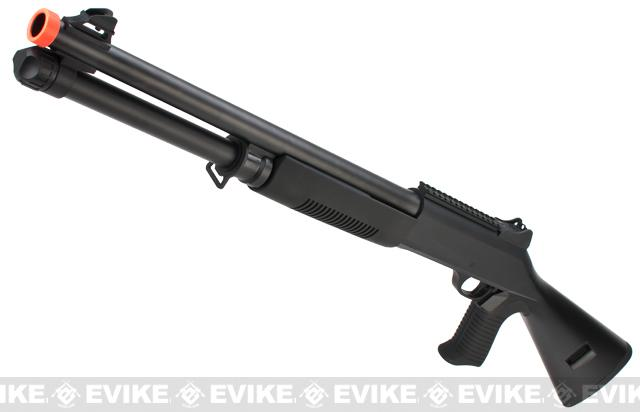 Airsoft M3 3-Round Burst Multi-Shot Shell Loading Shotgun (Model: Matrix Special Edition Full Stock)