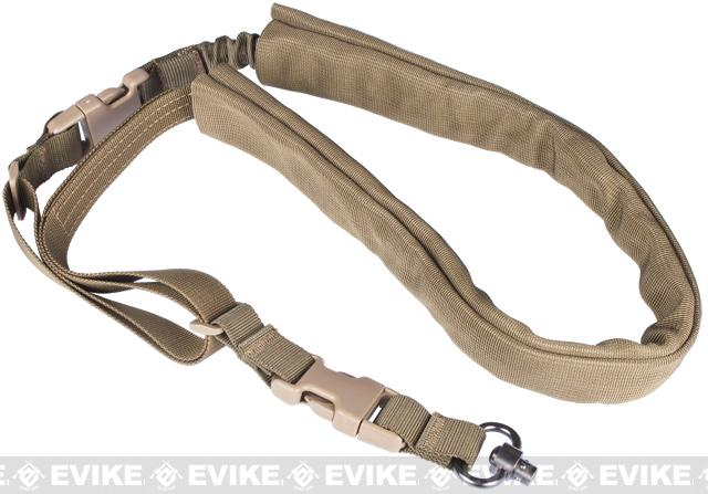 Matrix High Speed Single-Point Bungee Sling w/ QD Swivel (Color: Dark Earth)