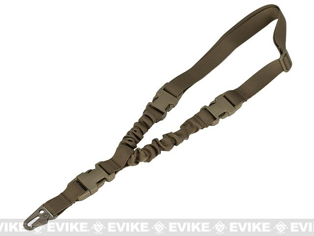 Matrix QD High Speed Single Point Bungee Sling w/ HK Hook (Color: Coyote Brown)