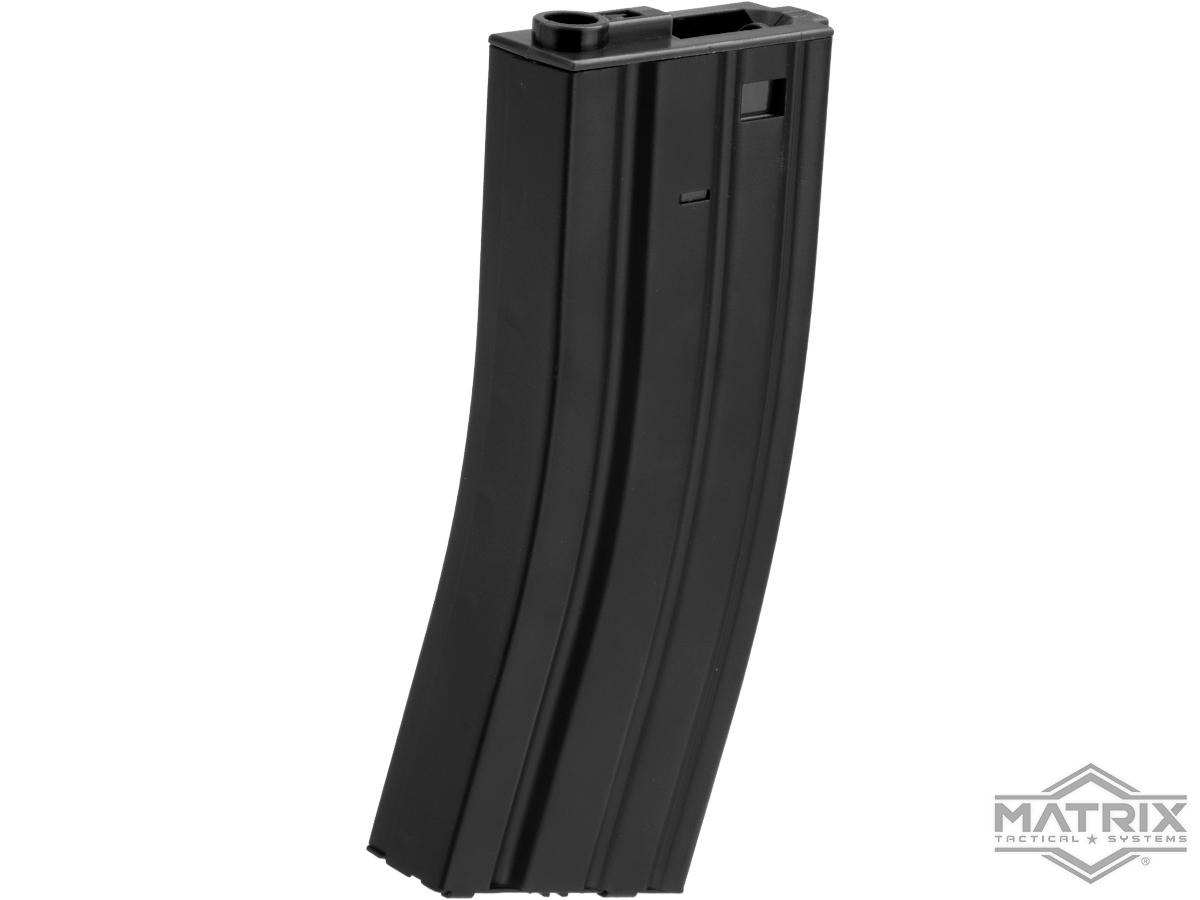 Matrix Metal 300rd Hi-Cap Magazine for M4/M16 Series Airsoft AEG Rifles (Color: Black)