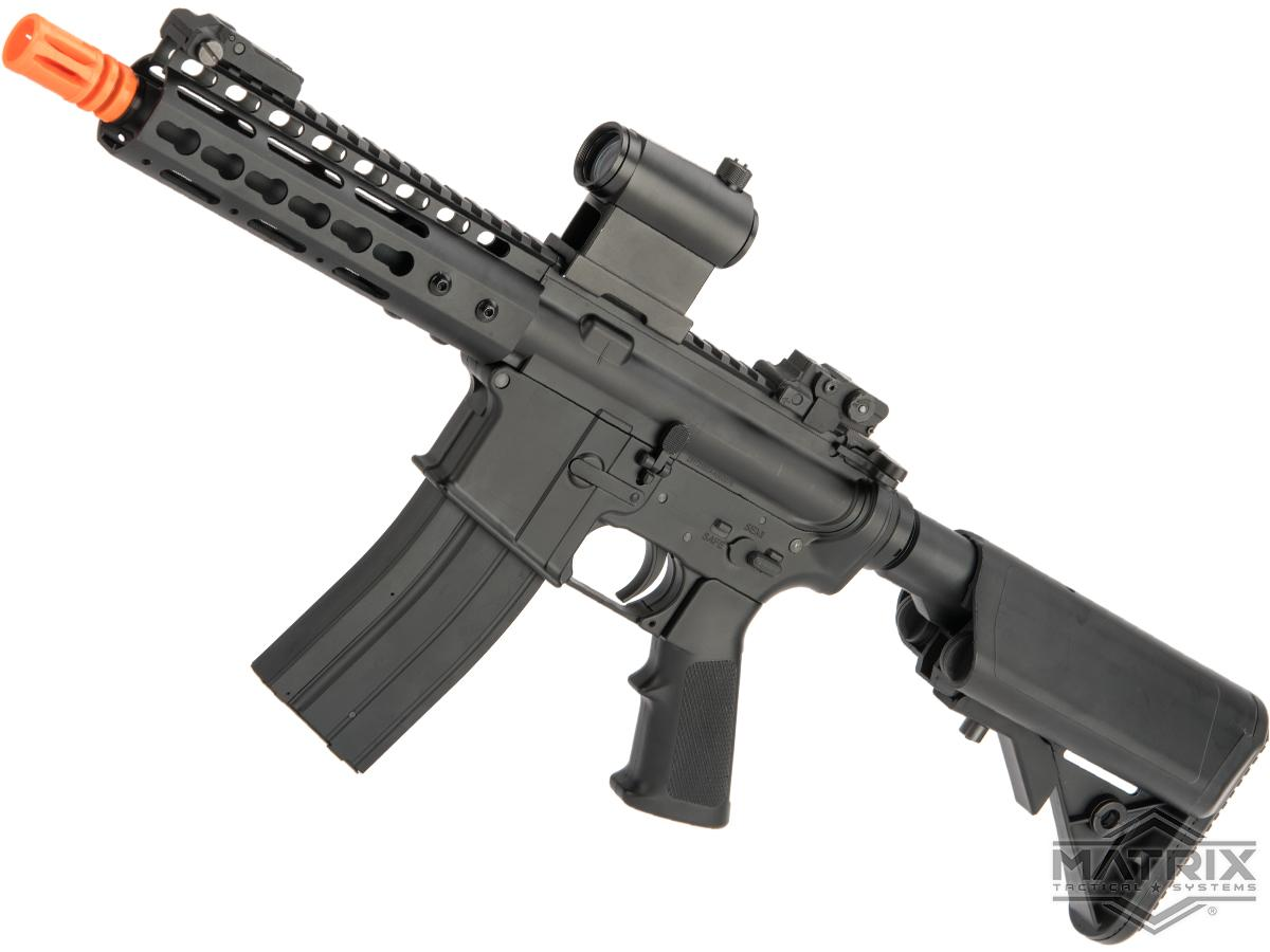 Matrix M4 GBB AR-15 Gas Blowback Airsoft Rifle w/ Reinforced WA System by S&T (Model: Keymod 7)