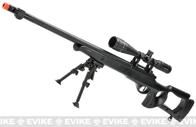 Matrix VSR10 MB09 Airsoft Bolt Action Sniper Rifle by WELL (Color: Black / Gun Only)