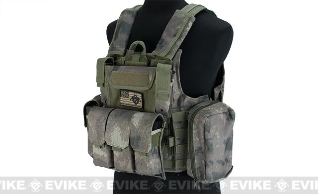 USMC Style C.I.R.A.S. Type Force Recon Tactical Vest (Color: Arid Foliage)