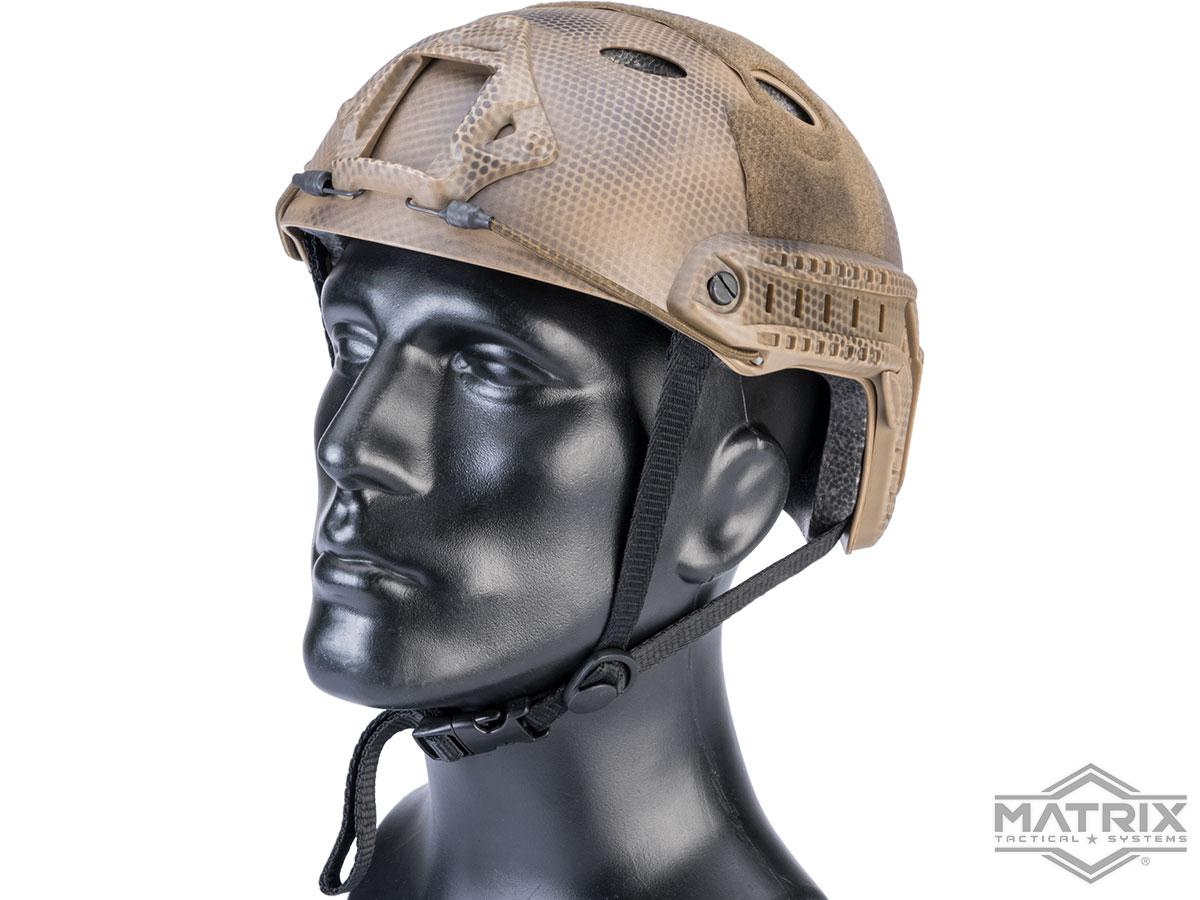 Matrix Basic PJ Type Tactical Airsoft Bump Helmet (Color: Tan Navy Seal)