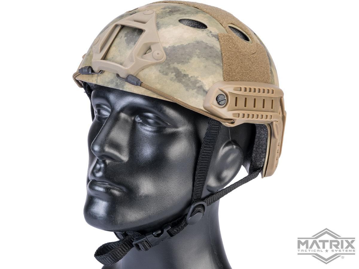 Matrix Basic PJ Type Tactical Airsoft Bump Helmet (Color: Arid Camo)