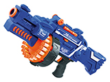 Blaze Storm Foam Blaster 7050 Drum Fed Electric Powered Dart Gun