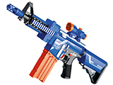 Blaze Storm Foam Blaster Semi Auto Soft Dart Rifle (Color: Blue)