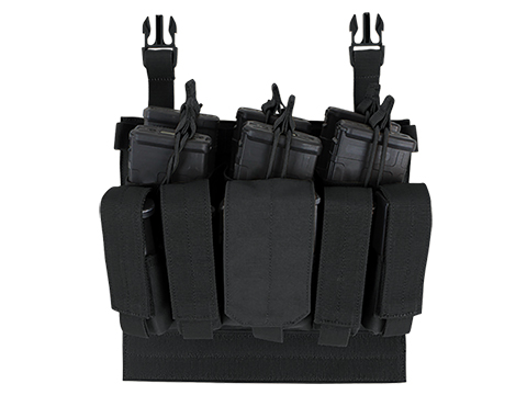 Condor Vanquish Armor System Recon Magazine Panel (Color: Black)