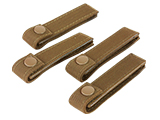 Condor 4 MOD Strap - Set of 4 / Coyote Brown