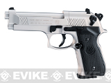 Umarex Beretta M92FS CO2 Air Pistol - Nickel (.177 cal Air Gun)