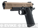 Umarex Colt M45 CQBP .177 CO2 Powered Blowback Air Pistol - Tan (.177 Cal AIRGUN NOT AIRSOFT)