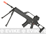 Elite Force H&K G36 Elite Airsoft AEG EBB Rifle w/ Integrated Scope & Red Dot Optic