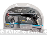 Walther PPK / S Operative Airsoft Spring Pistol Combat Kit by Umarex - Black