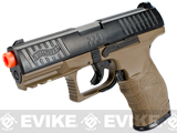 Walther PPQ Special Operations Airsoft Spring Pistol (Color: Black / Tan)
