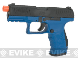 Walther PPQ GBB Full Metal Tac Airsoft GBB Pistol by Umarex Elite Force (Color: LE Blue)