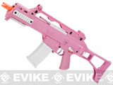 H&K G36C Pink Custom Limited Edition Full Size Metal Gearbox Airsoft AEG by Umarex Elite Force