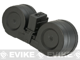 AIM 2500rd Electric Winding C-MAG Drum Mag for G36 Series Airsoft AEG