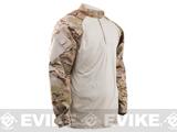 Tru-Spec Tactical Response Uniform 1/4 Zip Combat Shirt (Color: Multicam Arid / X-Large)