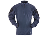 Tru-Spec Tactical Response Uniform 1/4 Zip Combat Shirt (Color: Navy / X-Large)