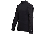 Tru-Spec Tactical Response Uniform Combat Shirt (Color: Black / Small)
