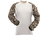 Tru-Spec Tactical Response Uniform Combat Shirt (Color: All Terrain Tiger Stripe / Large)