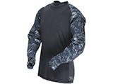 Tru-Spec Tactical Response Uniform Combat Shirt (Color: Midnight Digital / Small)