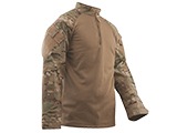 Tru-Spec Tactical Response Uniform Cold Weather  1/4 Zip Combat Shirt - Multicam