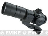Evike Extreme 1.5x30 Red Dot Sight Scope System w/ Magnifier - Black