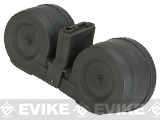 AIM 2500rd Electric Winding C-MAG Drum Mag for M4 / M16 Series Airsoft AEG