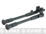 Matrix Full Metal Folding Bipod for Picatinny and 20mm Accessory Rails with Rubberized Feet