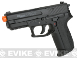 (NEW YEAR'S Epic Deal!) Swiss Arms Licensed SIG Sauer SP2022 CO2 Airsoft Gas Non-Blowback Pistol by KWC
