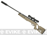 Swiss Arms TAC-1 Break Barrel .177 Air Rifle with 4x32 Scope - Dark Earth