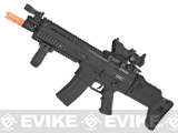 Echo1 Advanced Squad MK16 Carbine Light Airsoft AEG Rifle - Black