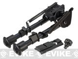 All-Platform Real Steel Retractable Harris Type Bipod (RIS + Stud Sniper Mount) by AIM Sports