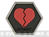 Operator Profile PVC Hex Patch Relationship Series (Status: Broken Hearted)