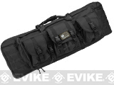 "Combat Featured 36"" Ultimate Dual Weapon Case Rifle Bag (Black)"