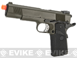 (EPIC DEAL) WE-USA NG3 Full Metal 1911 MEU Heavy Weight Airsoft Gas Blowback Pistol - OD Green