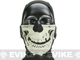 Matrix Glow-in-the-Dark Special Forces Ghost Skull Hood - Type B