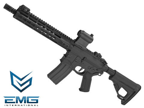 (10 MAGAZINE BUNDLE DEAL) EMG / Sharps Bros Hellbreaker Licensed Full Metal Advanced M4 SBR 10 Airsoft AEG Rifle (Black)