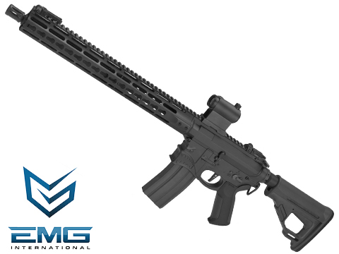 EMG / Sharps Bros Hellbreaker Licensed Full Metal Advanced M4 Airsoft AEG Rifle (Color: Black / 15 Carbine)