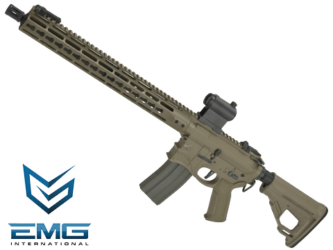 EMG / Sharps Bros Hellbreaker Licensed Full Metal Advanced M4  Airsoft AEG Rifle (Color: Tan  / 15 Carbine)