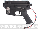 "G&P Complete ""Special Ops"" M4 Metal Receiver & Gearbox Airsoft AEG ProKit (G&P USA) Rear Wire / Black"