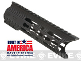 Matrix Arms 7 5.56 Charlie Keymod Free Float Hand Guard for AR15 / M4 / M16 Rifles - Black